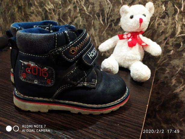 Демисезонные ботиночки для мальчика Heppi Boy