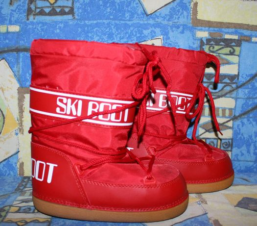Сапоги луноходы Ski boot,сноубутсы.