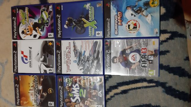 Vendo jogos PlayStation 2