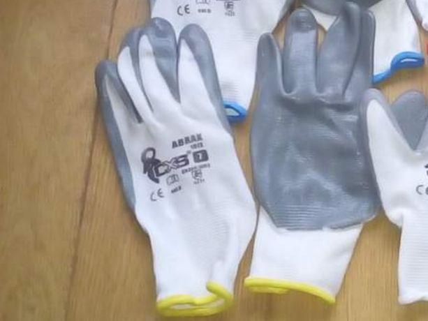 Rękawice z warstwą nitrylową 130szt. Rozm. 7