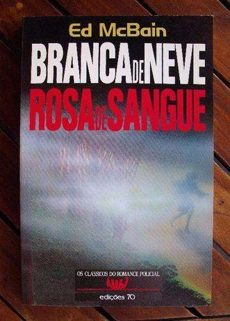 Branca de Neve, Rosa de Sangue - Ed Mcbain