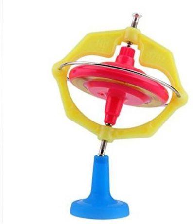 Giroscopio De Metal novo Spinner Gyro brinquedo ciência LED
