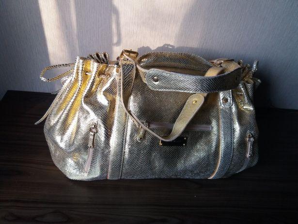 Объемная сумка оверсайз, кожа Italy PULICATI оригинал
