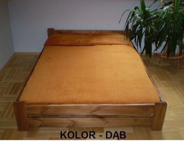 Łóżko drewniane dąb orzech olcha jasna sosna 90,120,140,160,180x200