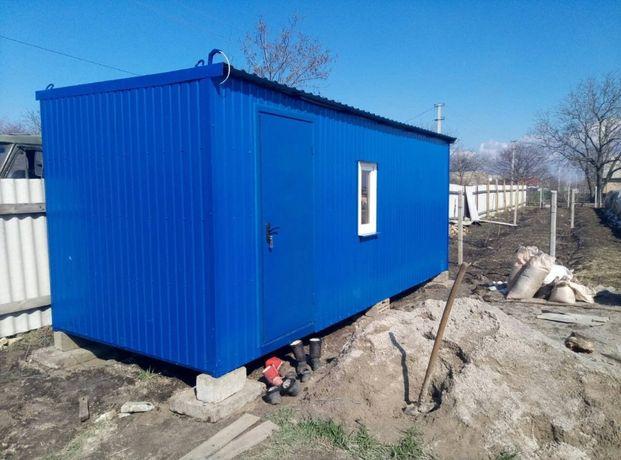 Дачный домик, бытовка, вагончик, контейнер, павильон, база отдыха