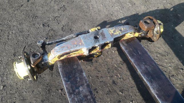 zawieszenie belka skretna ciagnik sam ciagniczek ogrodniczy traktorek