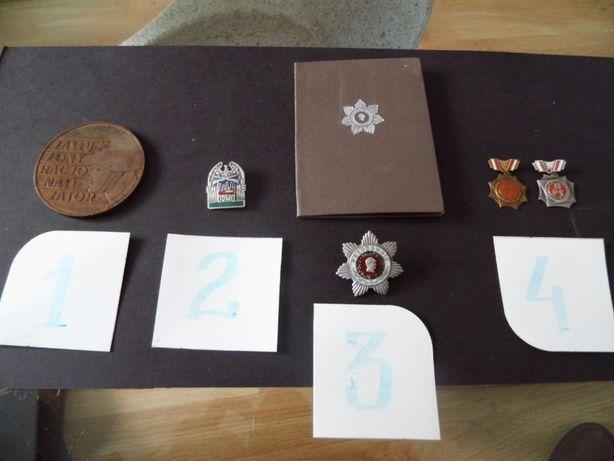 Odznaczenia, medale PRL, LWP. ORMO.