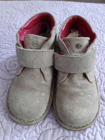 Замшевые ботинки ботиночки осенние р.27-28