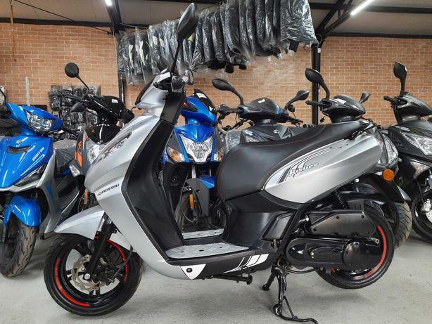Peugeot Kisbee 50 skuter motorower RATY RATY 2018r bez praw AM 2suw