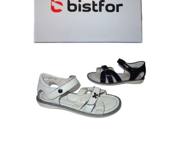 Bistfor, натуральные босоножки для девочек, с 26 по 30р, возможна прим