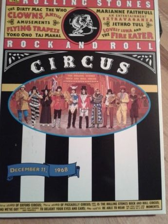 The Rolling Stones / Rock and Roll Circus ,dvd /68