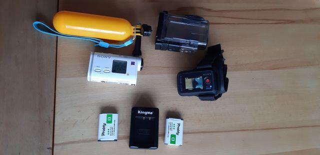 Kamera Sportowa Sony X 1000 +akcesoria