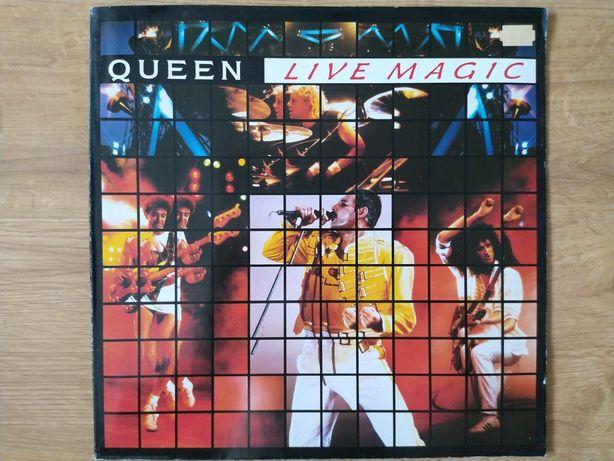 Płyty winylowe Queen Live Magic, gatefold.
