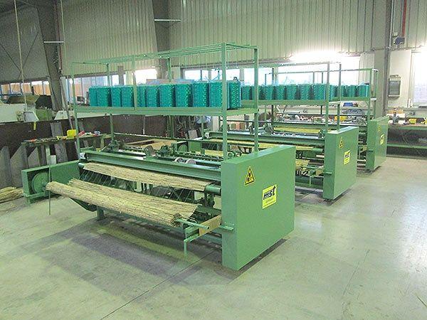 maszyna do produkcji mat trzcinowych wiklinowych słomianych trzcina