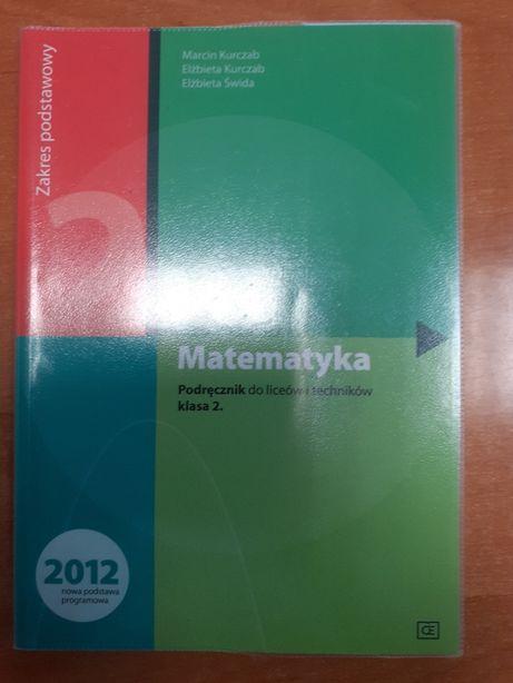 Matematyka podręcznik do liceów i techników klasa 2 OE 2016 r.