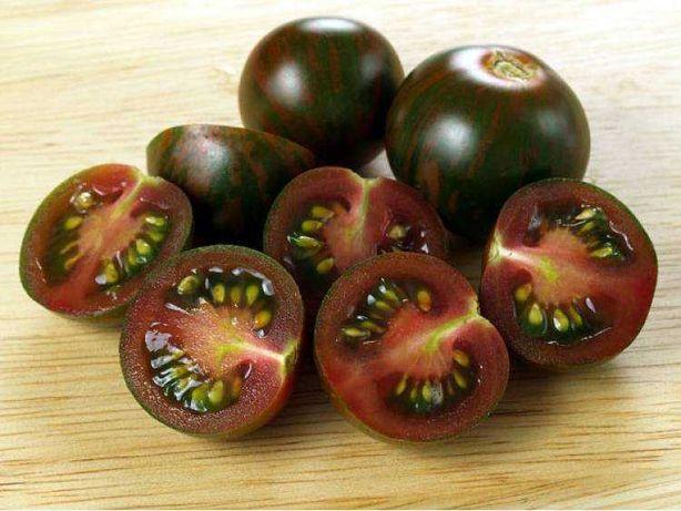 Sadzonki pomidor,różne odmiany-karłowe, gruszkowe,czarne,zebra, ananas