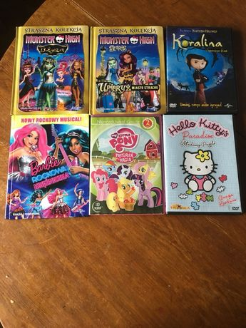 Płyty DVD bajki