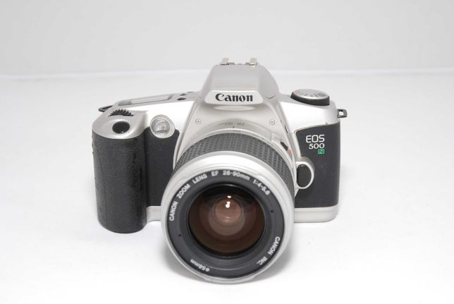 Canon EOS 500 N пленочный фотоаппарат 35мм 28-90mm 1:4-5.6 объектив