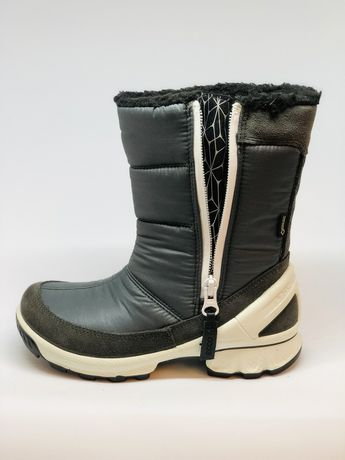 Зимние ecco скидка25% сапожки 29 31 сапоги ботинки экко екко