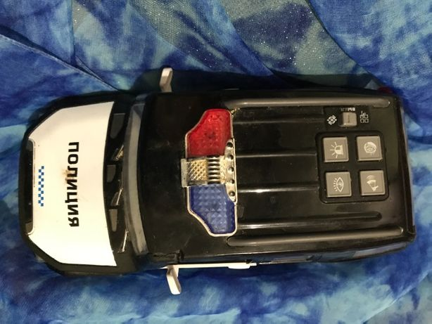 Машинка полицейская джип на батарейках