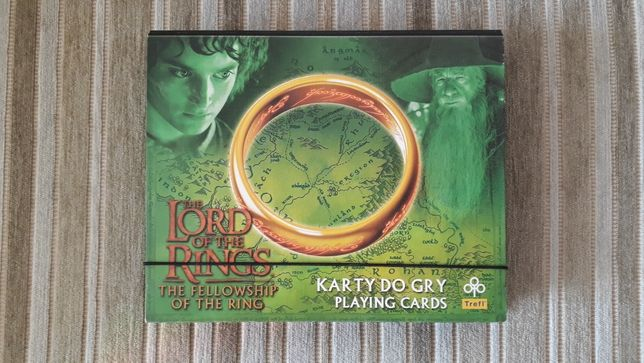 Karty do gry Lord of the Rings