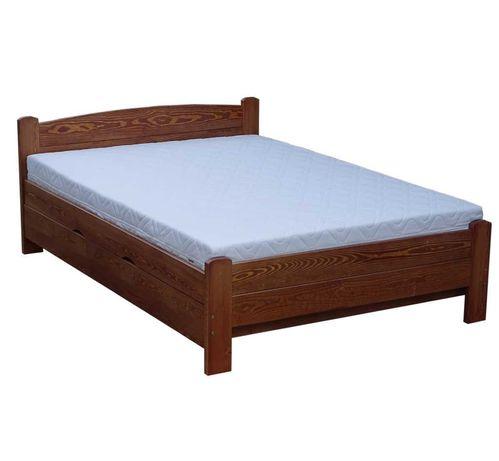 Łóżko z otwierane sosnowe z wysokim siedziskiem AZYL 90x200