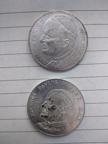 dwa medale jan paweł 2