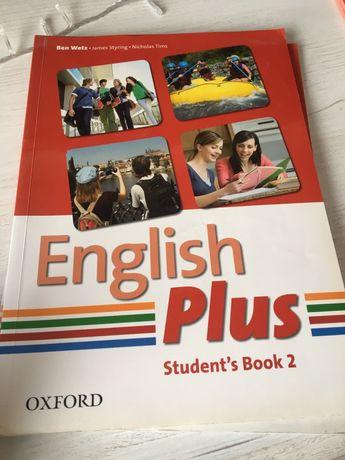 English Plus student's book 2/ workbook 2