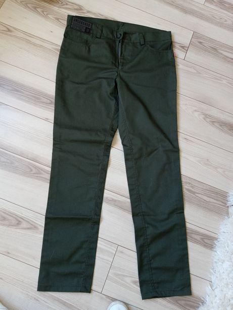 Spodnie meskie zielone