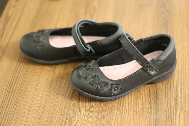 Продам школьные туфли F&f, размер 10, 18 см