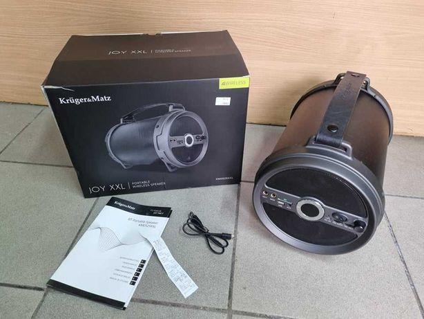 Głośnik Przenośny Bluetooth KRUGER MATZ Joy XXL - Gwarancja !!!