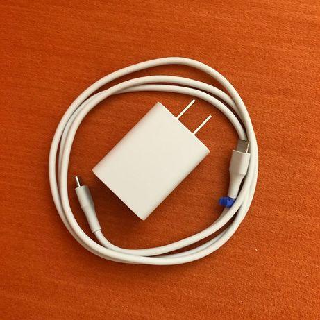 Зарядное быстрое + кабель Google Pixel 18W USB-C (Type C) TC G1000-US