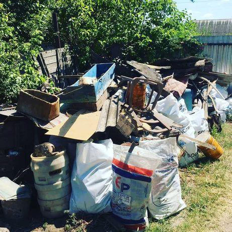 Вывоз строительного мусора, хлама, старой мебели. Авто+грузчики