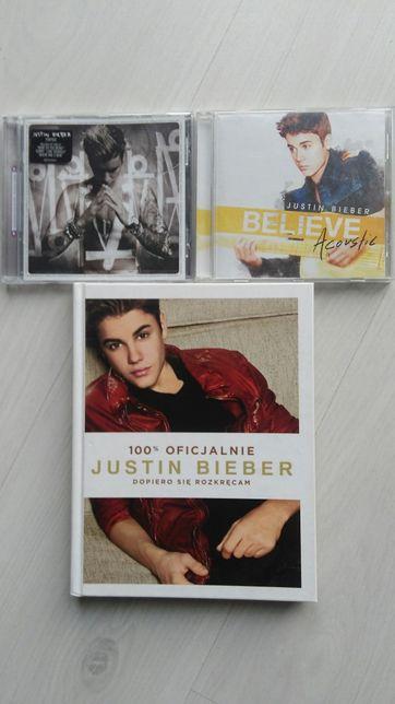 Justin Bieber 2 płyty+książka