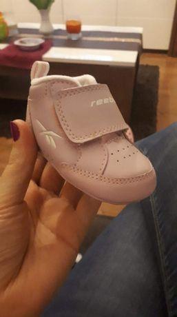 Rozowe buciki Reebok 7cm