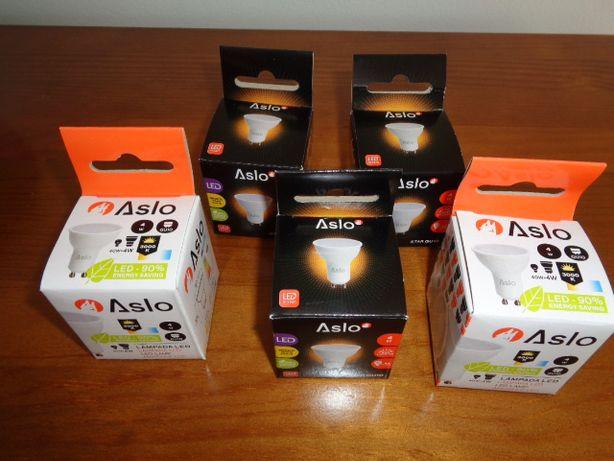 lâmpadas Led ASLO GU10 SMD