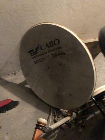 Prato para TV Cabo
