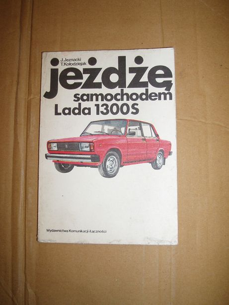 Łada 1300S Jeżdżę samochodem
