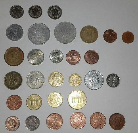Монети на обмін/продаж квотери,євро.