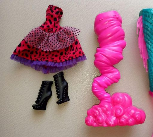 Monster High, Create a Monster, запчасти.