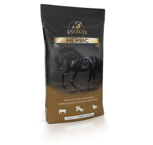 Pasza dla koni sportowych, średnie obciążenie i kucy HERBIC Energys