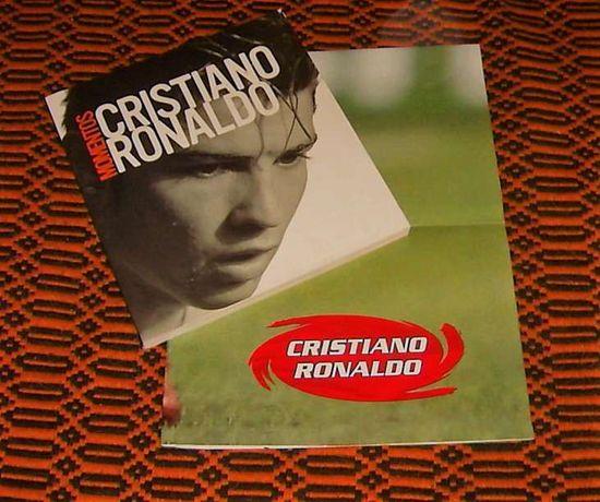 Cristiano Ronaldo - Livro + Poster (RARO)