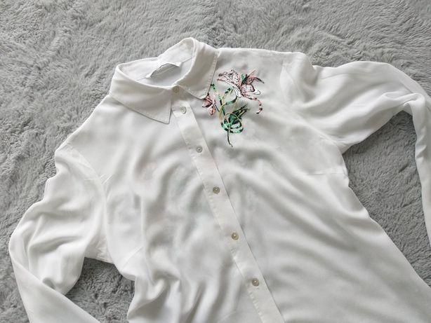 Elegancka koszula kwiaty Oodji rozm 38 M
