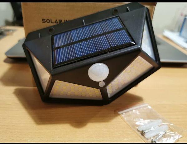 LED светильник уличный с датчиком движения и освещения