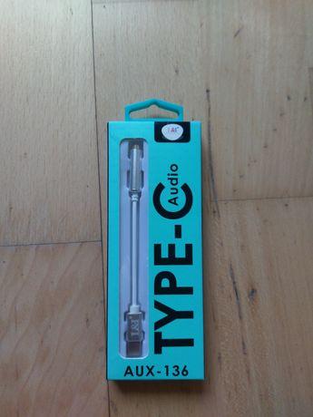 Przejściówka USB C - AUX