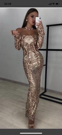 Шикарное вечернее платье Турция оригинал!