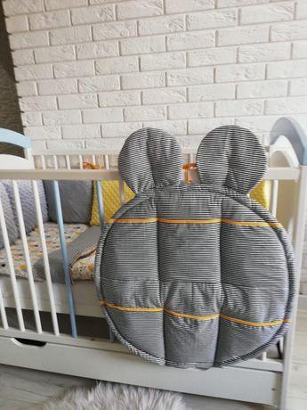 Wyprawka dla chłopca. Ochraniacz modułowy, poduszkowy. Poszewki,