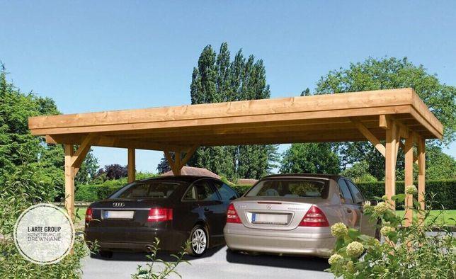 Carport zadaszenie wiata 6x6 m Producent