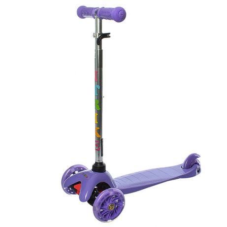 Самокат детский iTrike BB 3-013-4-C трехколёсный фиолетовый