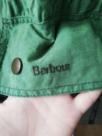 Damska woskowana kurtka parka khaki firmy barbour rozmiar xl